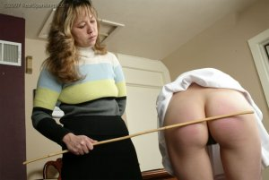 Real Spankings - Brandi's Cheerleading Caning - image 18