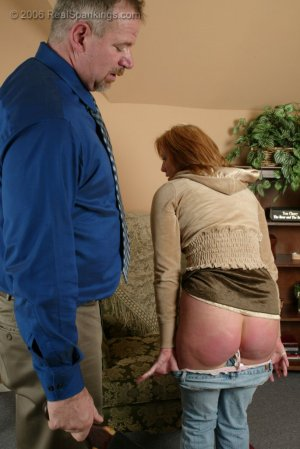 Real Spankings - Brooke Is Paddled For Skipping School - image 14