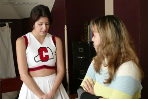 Real Spankings - Brandi's Cheerleading Caning - image 12