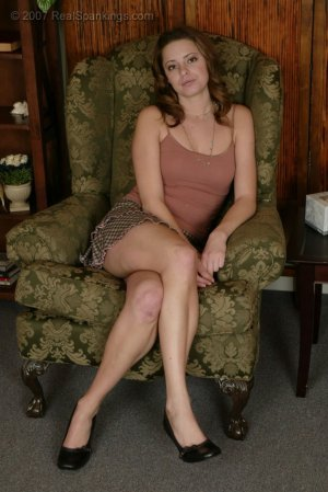 Real Spankings - Jackie's Spanking Interview - image 6
