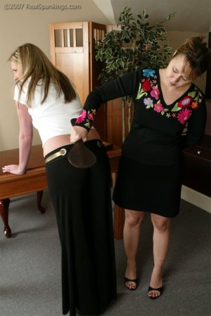Real Spankings - Riley Is Caught In The Halls - image 17
