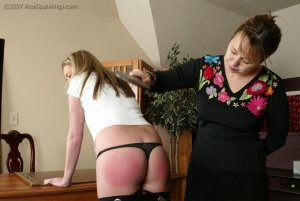 Real Spankings - Riley Is Caught In The Halls - image 6