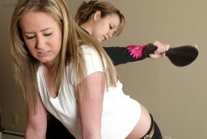 Real Spankings - Riley Is Caught In The Halls - image 14
