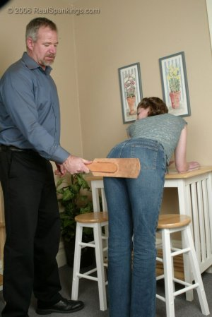 Real Spankings - Kathy Earns A Spanking For Her Irresponsibility - image 9