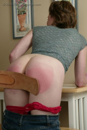 Real Spankings - Kathy Earns A Spanking For Her Irresponsibility - image 17