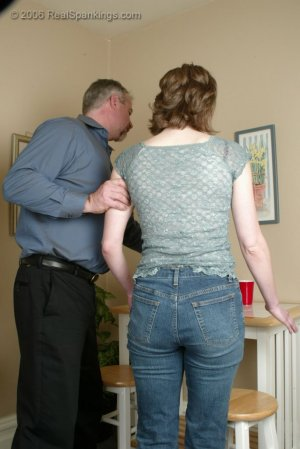 Real Spankings - Kathy Earns A Spanking For Her Irresponsibility - image 13