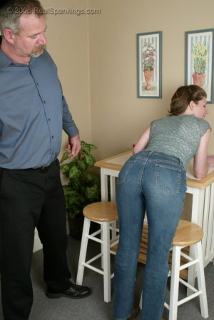 Real Spankings - Kathy Earns A Spanking For Her Irresponsibility - image 5