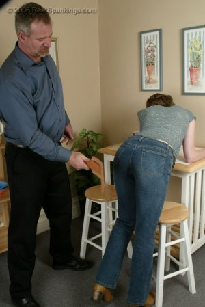 Real Spankings - Kathy Earns A Spanking For Her Irresponsibility - image 6