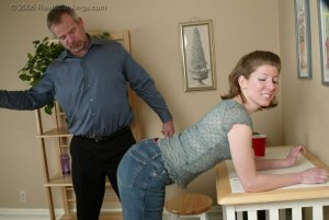 Real Spankings - Kathy Earns A Spanking For Her Irresponsibility - image 8