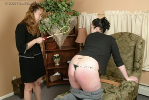 Real Spankings - Isabel Is Punished For Wrecking The Car - Part 2 - image 9