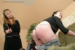 Real Spankings - Isabel Is Punished For Wrecking The Car - Part 2 - image 2