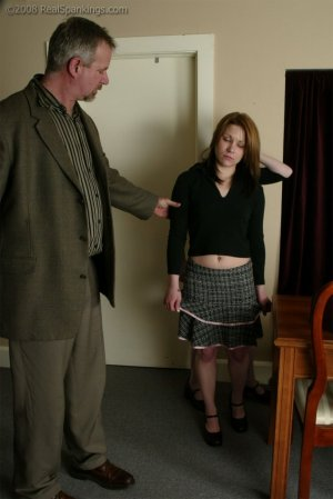 Real Spankings - Bailey And Claire Earn A Spanking - image 12