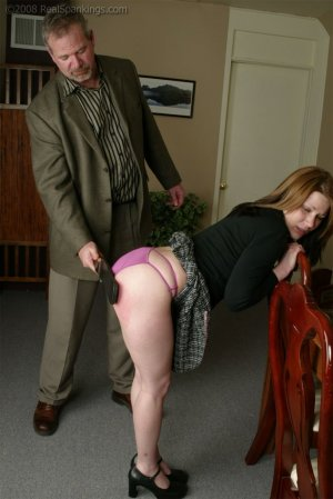 Real Spankings - Bailey And Claire Earn A Spanking - image 16