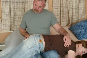 Real Spankings - Monica Is Caught Leaving School - image 7