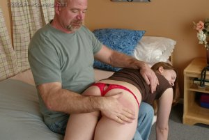 Real Spankings - Monica Is Caught Leaving School - image 4