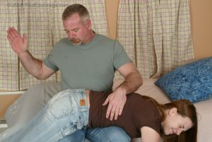 Real Spankings - Monica Is Caught Leaving School - image 16