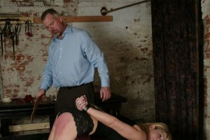 Real Spankings - Ms. Burns' Dungeon Session - Part 1 - image 1