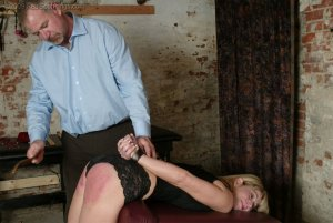Real Spankings - Ms. Burns' Dungeon Session - Part 1 - image 11