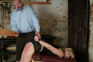 Real Spankings - Ms. Burns' Dungeon Session - Part 1 - image 9