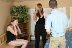 Real Spankings - Monica Caught With A Boy - Part 2 - image 2