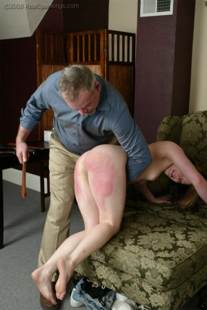 Real Spankings - Claire's Discipline Session - Part 1 - image 2