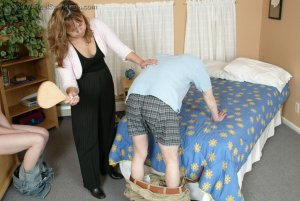 Real Spankings - Monica Caught With A Boy - Part 2 - image 15