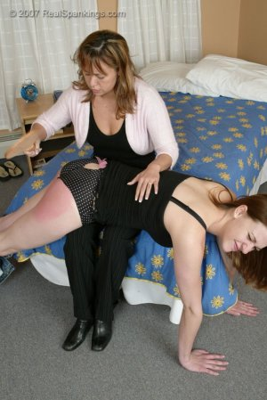 Real Spankings - Monica Caught With A Boy - Part 2 - image 12