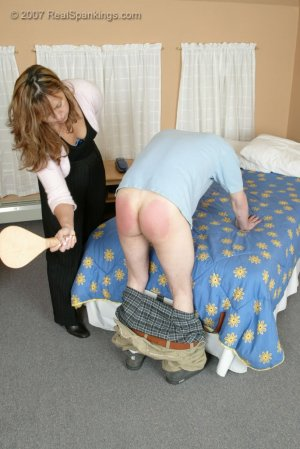 Real Spankings - Monica Caught With A Boy - Part 2 - image 5