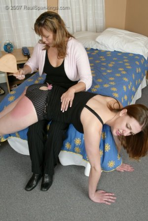 Real Spankings - Monica Caught With A Boy - Part 2 - image 17