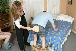 Real Spankings - Monica Caught With A Boy - Part 2 - image 11