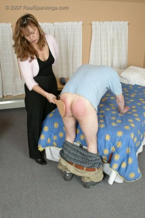 Real Spankings - Monica Caught With A Boy - Part 2 - image 13