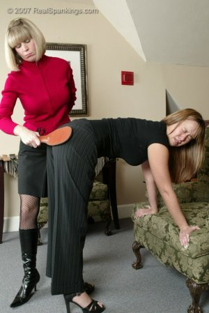 Real Spankings - Cindy's Spanking Session - image 10