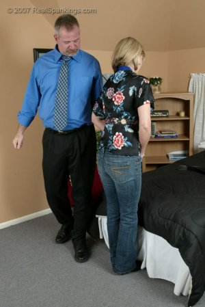 Real Spankings - A Belting For Ms. Burns - image 1