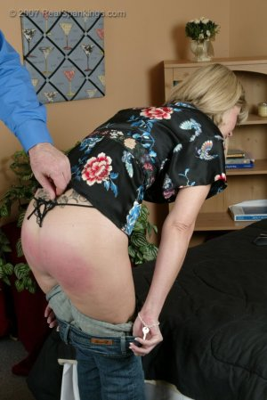 Real Spankings - A Belting For Ms. Burns - image 9