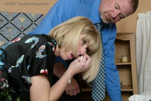 Real Spankings - A Belting For Ms. Burns - image 12
