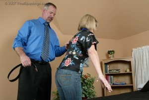 Real Spankings - A Belting For Ms. Burns - image 16