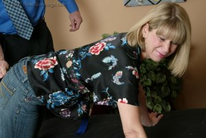 Real Spankings - A Belting For Ms. Burns - image 6
