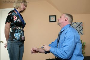 Real Spankings - A Belting For Ms. Burns - image 13