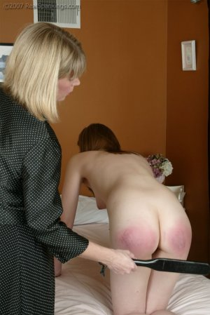 Real Spankings - Monica's Private Session With Ms. Burns - Part 2 - image 2