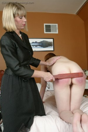 Real Spankings - Monica's Private Session With Ms. Burns - Part 2 - image 3