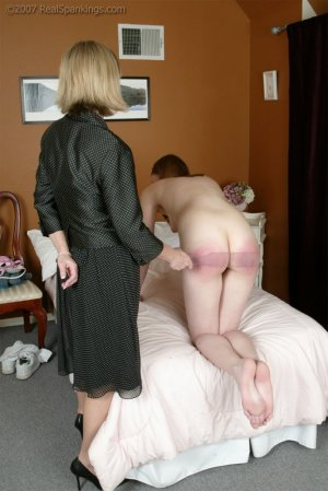 Real Spankings - Monica's Private Session With Ms. Burns - Part 2 - image 4