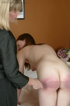 Real Spankings - Monica's Private Session With Ms. Burns - Part 2 - image 18