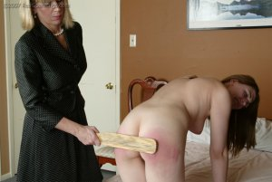 Real Spankings - Monica's Private Session With Ms. Burns - Part 2 - image 12
