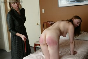Real Spankings - Monica's Private Session With Ms. Burns - Part 2 - image 5