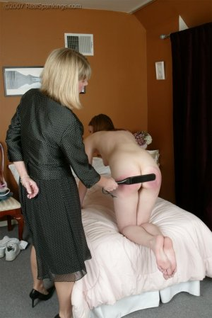 Real Spankings - Monica's Private Session With Ms. Burns - Part 2 - image 6