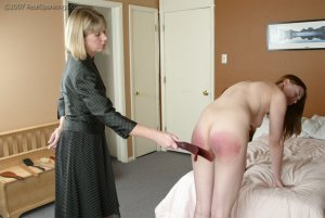 Real Spankings - Monica's Private Session With Ms. Burns - Part 1 - image 3