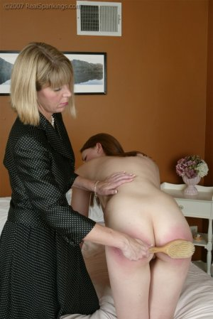 Real Spankings - Monica's Private Session With Ms. Burns - Part 2 - image 13