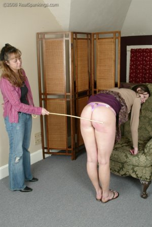 Real Spankings - Jackie Gets The Cane - image 3