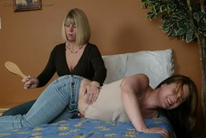 Real Spankings - Claire Struggles With Ms. Burns - image 7