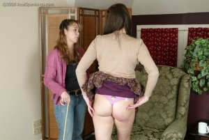 Real Spankings - Jackie Gets The Cane - image 18